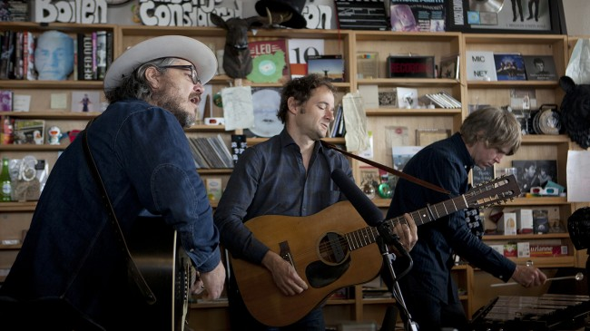 Tiny Desk Concert with Wilco.
