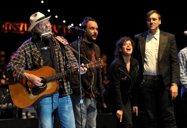 Neil Young's 25th Annual Bridge School Benefit Concert - Day 1