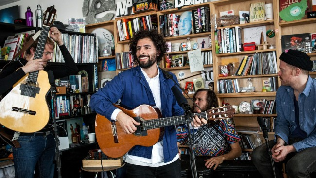 Tiny Desk Concert with José Gonzále
